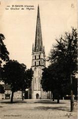 Saint-Savin - Le Clocher de l'Eglise - Saint-Savin