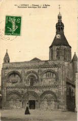 Civray - L'Eglise - Civray