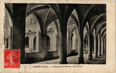 Liguge - L'Abbaye Saint-Martin - Les Cloitres - Ligugé