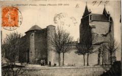 Chauvigny - Chateau d'Harcourt - Chauvigny