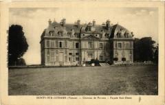 Monts-sur-Guesnes - Chateau de Purnon - Facade Sud-Ouest - Monts-sur-Guesnes
