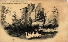 Les Trois-Moutiers - Ruines du Chateau Montpensier - Les Trois-Moutiers