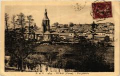 Civray - Vue générale - Civray