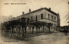 Civray - Mairie et Palais de Justice - Civray