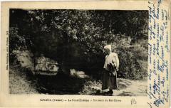 Civaux - La Font-Cherien - Souvenir du Roi Clovis - Civaux