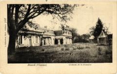 Biard - Chateau de la Fenestre - Biard