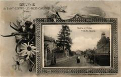 Souvenir de Saint-Gervais-les-Trois-Clochers Mairie et Ecoles Villa - Saint-Gervais-les-Trois-Clochers