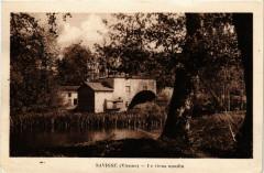 Savigne - Le vieux moulin - Savigné