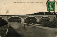 Port-de-Piles - Le Pont du Chemin de Fer et l'Abreuvoir - Port-de-Piles