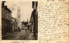 Les Ormes - Rue de l'Eglise - Les Ormes