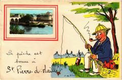 La peche est bonne a Saint-Pierre-d-Maille - Maillé