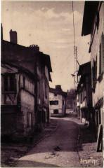 Parthenay - Vieilles maisons de la basse ville - Parthenay