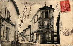 Sauze-Vaussais - rue du Baron - Sauzé-Vaussais