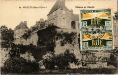 Melle - Chateau de Chaille - Melle