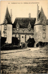 Thenezay - Chateau de la Rochefaton - Thénezay