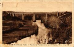 Thouars - Vallée du Thouet et le Viaduc - Thouars