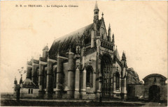 Thouars - La Collegiale du chateau - Thouars
