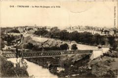 Thouars - Le Pont Saint-Jacques et la Ville - Thouars