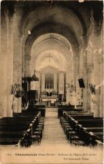 Champdeniers - Interieur de l'Eglise - Champdeniers