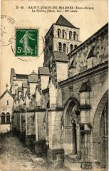 Saint-Jouin de MARNEs - Le Cloitre - Marnes