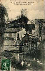 Chef-Boutonne (Deux-Sevres) - La Source de la Boutonne - Chef-Boutonne