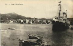 Propriano - General View with a Ship Corsica - Corse - Propriano