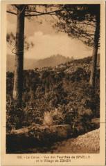 Vue des Fourches de Bavella - Le Village de Zonza Corsica - Corse - Zonza