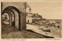 Algajola - Village Scene - Remi Landeau - 1931 Corsica - Corse - Algajola