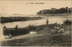 Saint-Florent - Enfants - Children with Boats Corsica - Corse - Saint-Florent