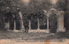 Auch (Gers) - Château de la Hourre - Restes des Cloîtres de l'Ancienne Abbaye (c.1904)  - Auch