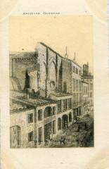Ancienne Guyenne - Bordeaux église des Templiers 33 Bordeaux