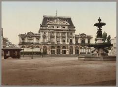 Cherbourg. Grand Theâtre et Fontaine Mouchel LCCN2017659782 50 Cherbourg-en-Cotentin