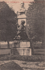 43. Bordeaux. - Monument Maxime Lalanne (Jardin-Public) (c.1904)  - Bordeaux