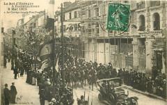 Le Roi d'Espagne à Fontainebleau 8 Mai 1913 - I. Le Cortège dans la Rue Grande - Fontainebleau