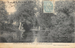 Grimault La Riviere Du Serein Et Passerelle - Grimault
