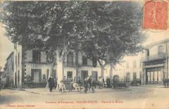 Salles D'Aude Place De La Mairie - Salles-d'Aude