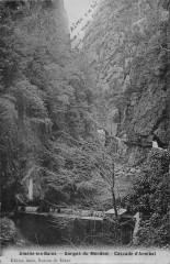 Amelie Les Bains Route De Montbolo Et Calvaire (cpé Fau émail - Montbolo