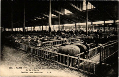 Marché aux Bestiaux de la Villette - Pavillon aux Moutons - Paris 19e