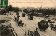 Panorama pris des Fortifications à la Porte d'Allemagne - Paris 19e