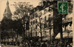 L'Avenue d'Orléans et l'Eglise Saint-Pierre de Montrouge - Paris 14e