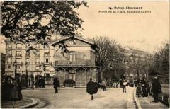 Buttes-Chaumont - Porte de la Place Armand-Carrel - Paris 19e