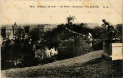 Les Buttes-Chaumont - Vue Générale - Paris 19e