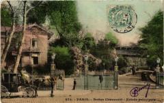 Buttes Chaumont - Entrée principale - Paris 19e