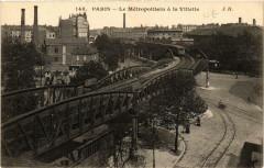 Le Métropolitain à la Villette - Paris 19e