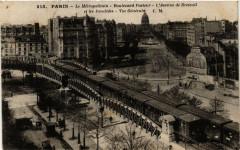 Le Métropolitain - Boulevard Pasteur - L'Avenue de Breteuil et les Invalides - Vue Générale - Paris 15e