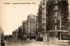 Avenue de la Porte-Brunet - Paris 19e