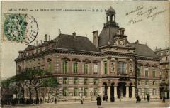 La mairie du XIXe arrondissement - Paris 19e