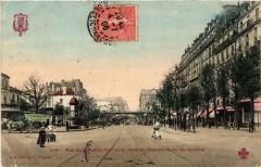 Rue de Flandre - Pont du Chemin de fer de Ceinture - Paris 19e