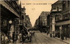 La rue de la Gaité 75 Paris 14e