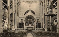 Intérieur de l'Eglise Notre-Dame du Travail, rue Vercingétorix 75 Paris 14e